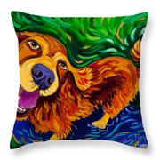 Puddle Of Love Throw Pillow