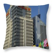 Pudong District, Shanghai Throw Pillow