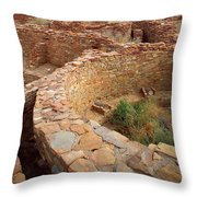 Pueblo Bonito Throw Pillow