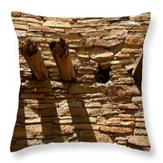 Pueblo Bonito Wall Throw Pillow