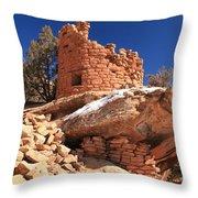 Pueblo Cliff Throw Pillow