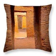 Pueblo Doorways Throw Pillow