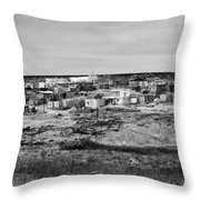 Pueblo Landscape Throw Pillow
