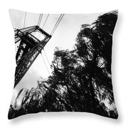 Puente Colgante Iv Throw Pillow