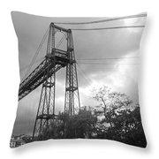 Puente Colgante Throw Pillow