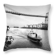 Puente Colgante V Throw Pillow