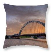 Puente De Lusitania II Throw Pillow