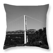 Puente II Bw Throw Pillow