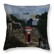 Puerta De San Juan Throw Pillow