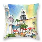 Puerto De La Cruz 01 Throw Pillow