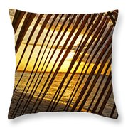 Puerto Rico Sunset 2 Throw Pillow