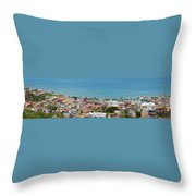 Puerto Vallarta Throw Pillow