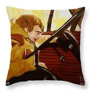 Pueruli Simulat  Throw Pillow by JT Peyton