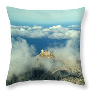 Puig Major Mallorca Spain Throw Pillow