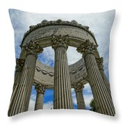 Pulgas Water Temple Throw Pillow
