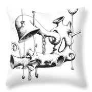Pull My Chain Sweetheart Throw Pillow