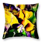 Botanical # 1211 Throw Pillow