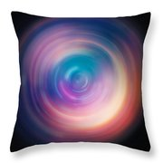 Pulse Spin Art Throw Pillow