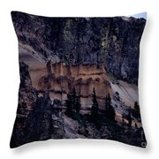 Pumice Castle I Throw Pillow