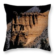 Pumice Castle II Throw Pillow