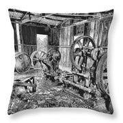 Pump House Throw Pillow