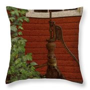 Pump Throw Pillow by Jack Zulli