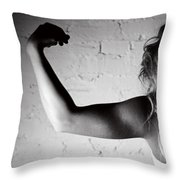Pump You Up II Throw Pillow