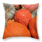 Pumpkin Happy Throw Pillow