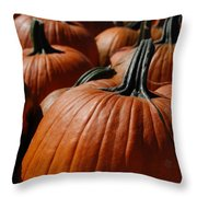 Pumpkin Harvest 1 Throw Pillow