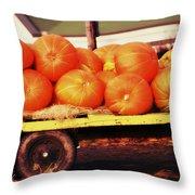 Pumpkin Load Throw Pillow