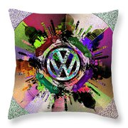 Punch Buggy Taj Throw Pillow