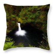 Punchbowl Morning Throw Pillow