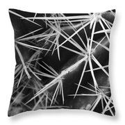 Puncture Throw Pillow