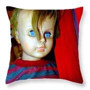 Punk Boy Throw Pillow