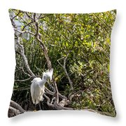 Punk 'do Throw Pillow by Kate Brown