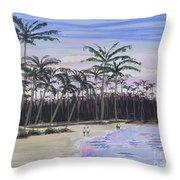 Punta Cana Getaway Throw Pillow