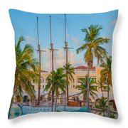 Punta Cana Resort Throw Pillow