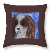 Puppy Doll Throw Pillow