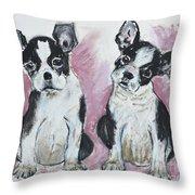 Puppy Puppy Throw Pillow