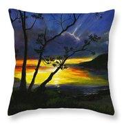 Purdy Sunset Throw Pillow