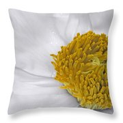 Pure And A Heart Of Gold Throw Pillow