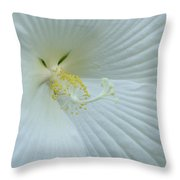 Pure And Sensual Throw Pillow