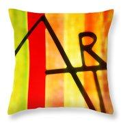 Pure Art Throw Pillow
