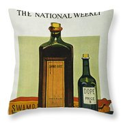 Pure Food Act, 1912 Throw Pillow