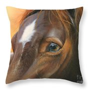 Pure Grace Throw Pillow