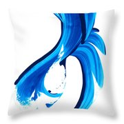Pure Water 260 Throw Pillow by Sharon Cummings