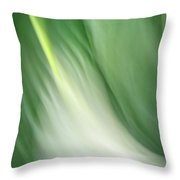 Purity And Peace Throw Pillow