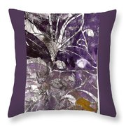 Purity Is Passion Throw Pillow