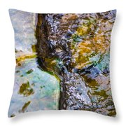 Purl Of A Brook 2 - Featured 3 Throw Pillow