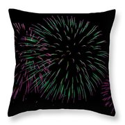 Purp Throw Pillow